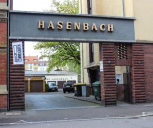 hasenbach strasse einfahrt